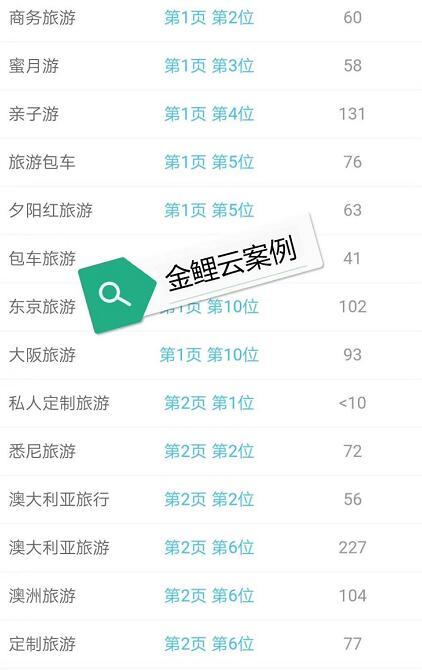 旅游网站推广优化seo